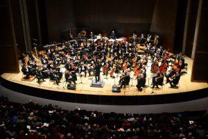 התזמורת הסימפונית,במה