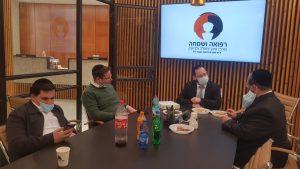 רפואה ושמחה, עיריית ירושלים