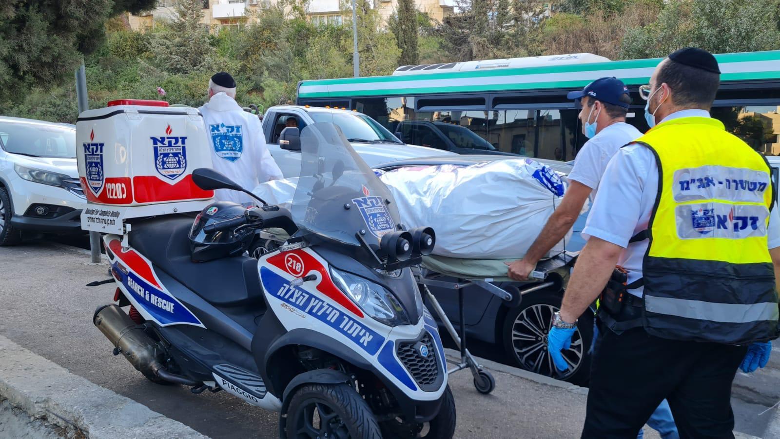 מהזירה בירושלים, גופת בת 65 נמצאה בירושלים