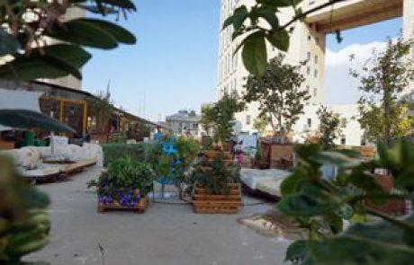 אטרקציה נסתרת בעיר: המרפסת של מוסללה