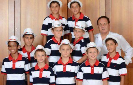 יום השישי: להקת הילדים פרחי ירושלים עושים עומר אדם