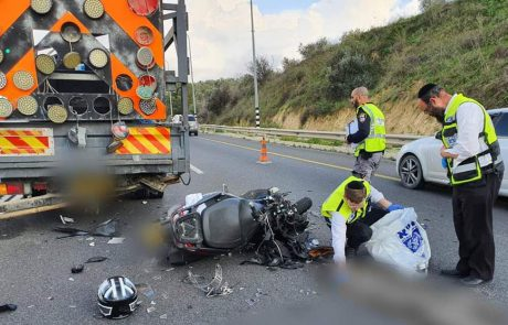בדרך לירושלים: צעיר חרדי נהרג בתאונת אופנוע