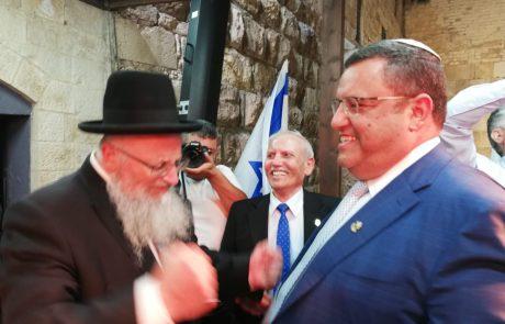 """ליאון: """"שמח ונרגש לפתוח את חגיגות יום ירושלים"""""""