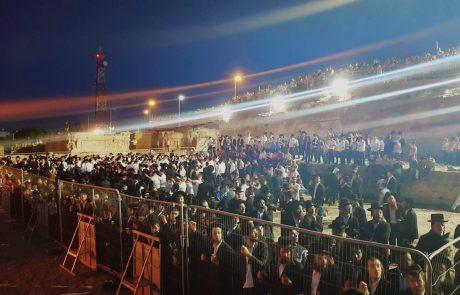 עשרות אלפים בהילולא בציון שמואל הנביא