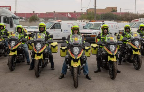 """השתדרגו: שבעה אופנועים כבדים לצי מד""""א"""