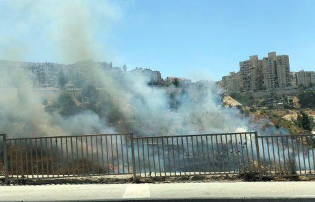השריפה אתמול בליפתא: הצתה