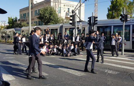 כבישים חסומים, פקקים ועצורים בהפגנות ענק