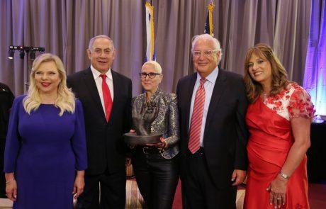 נתניהו בחגיגות יום העצמאות האמריקאי בירושלים