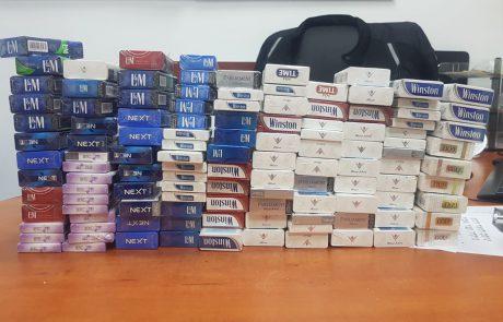 גנב סיגריות באלפי שקלים ונעצר