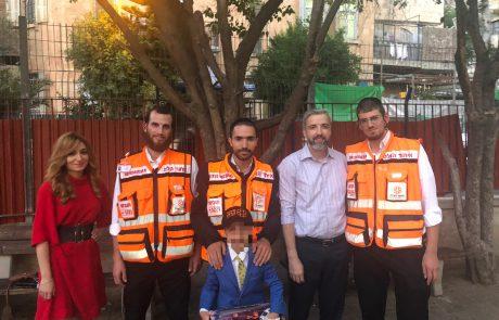 חזר לחיים ופגש את המתנדבים שהצילו את חייו