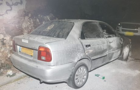 המשטרה עצרה צעיר שהצית רכב בסילוואן