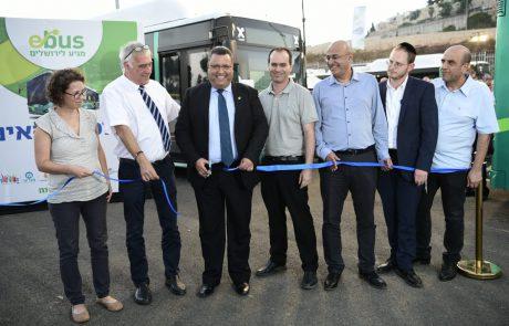 ירושלים מתקדמת לתחבורה ירוקה