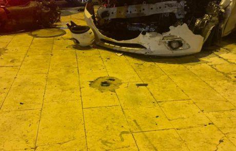 """גנב רכבים נעצר הלילה אחרי שפצע לוחמי מג""""ב"""
