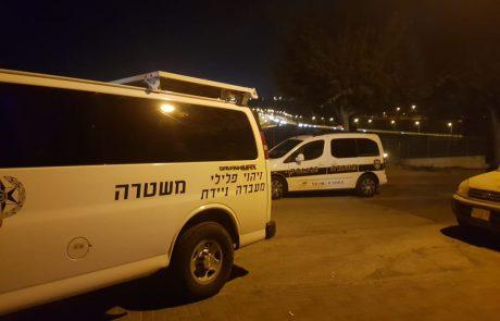 המשטרה חילצה נהג מרכב בוער בעיסוואיה, שמונה חשודים נעצרו