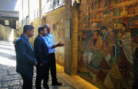 """ברקוביץ: """"כל ילד צריך להכיר את המורשת ההיסטורית של הרובע היהודי״"""