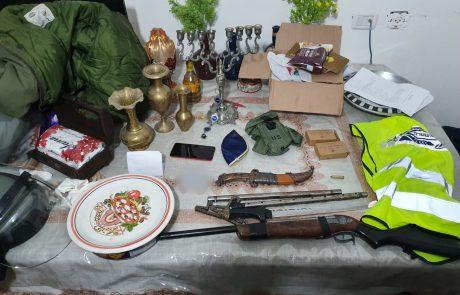 הלילה: סמים וכלי נשק אותרו בשועפט