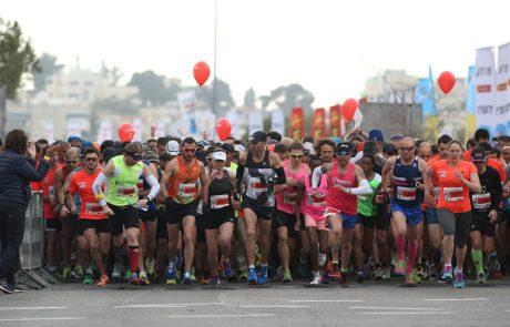 סדר בשמועות: מרתון ירושלים יתקיים כרגיל