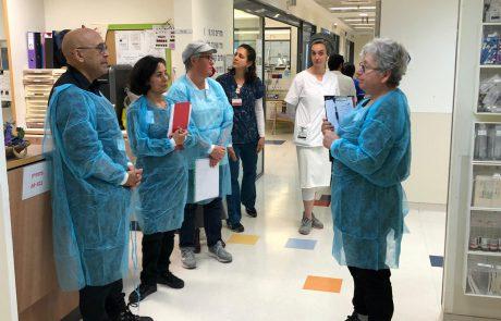שערי צדק: טכנאי רנטגן נדבק בקורונה