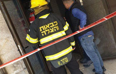 """פצוע קל מפיצוץ ברחוב לח""""י"""