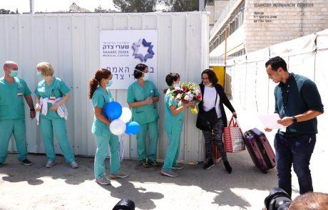 פרופ' רוטשטיין הגיע הבוקר למאהל המחאה של בתי החולים הציבוריים | החרפת המאבק בין בתי החולים למשרד האוצר