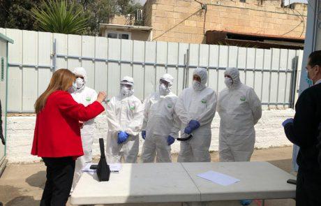 מתחמי בדיקות נוספים בירושלים 📸