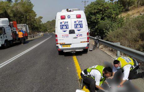 רוכבת אופניים החליקה ונהרגה 📸