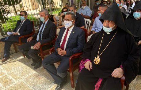 הושלם פרויקט הפטריארכיה הארמנית 📸