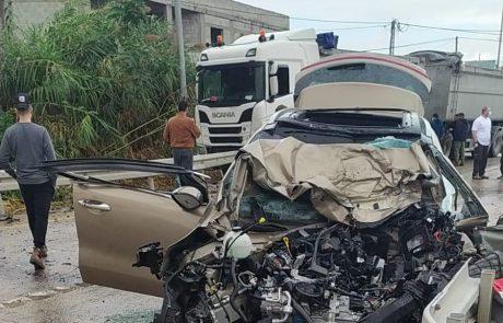 טרגדיה בכביש 90, גבר ואישה כבני 60 נהרגו בתאונה קטלנית.