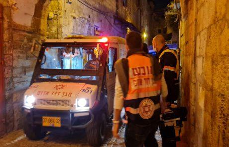 ניסיון פיגוע בשער האריות, אזרח ישראלי נפצע קל, המחבל נוטרל