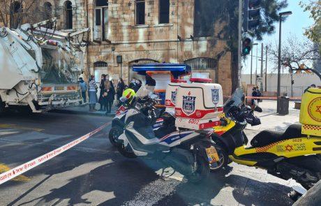 בת 63 נהרגה בתאונת דרכים סמוך לתחנה המרכזית בירושלים