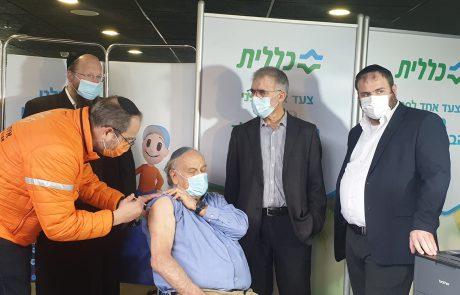 נשיא איחוד הצלה, אלי ביר, שחלה באופן קשה בקורונה והחלים – חיסן אזרחים במתחם החיסונים של כללית בירושלים