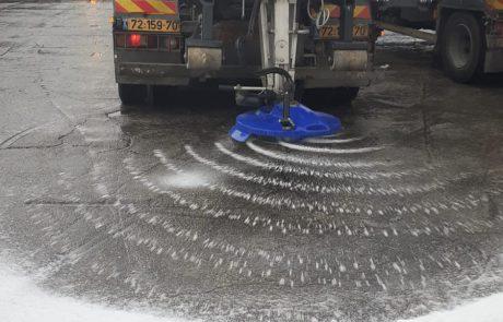 היערכות לשלגים: פיזור מלח, סיורים לטיפול בדרי רחוב ותגבור המוקד העירוני
