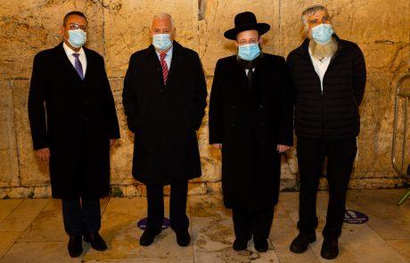 משה ליאון ודיוויד פרידמן מסכמים 4 שנות שיתוף פעולה