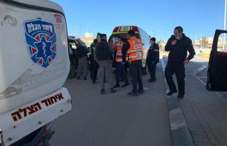 צעיר שנפצע מירי הובא למחסום מ.פ שועפאט
