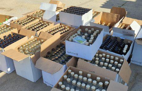 סכנה לציבור: בלשי המשטרה ופקחי משרד הבריאות איתרו מספר עסקים שמכרו אלכוהול