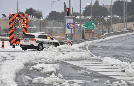 היערכות משטרת מחוז ירושלים למזג האוויר הסוער- סיכום