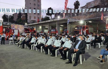 טקס חילופי מפקדי תחנות אזוריות נערך אמש בירושלים, מי השתתף? | כל הפרטים