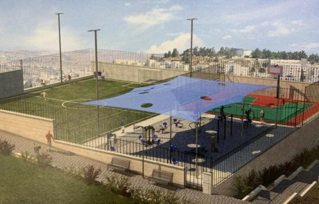 למען תושבי כפר עקב: עיריית ירושלים החלה בהקמת קרית ספורט בשכונה
