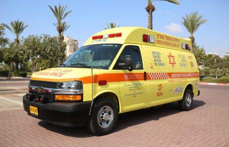 אדם התחשמל ופונה במצב קשה למרכז הרפואי שיבא