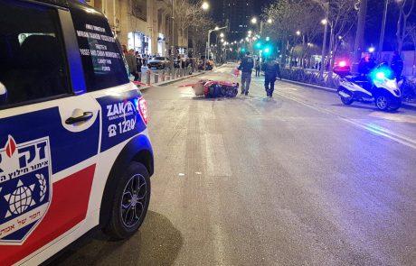 """טרגדיה בירושלים: בנו של מתנדב זק""""א, רוכב אופנוע כבן 20 נהרג אמש בתאונה קטלנית ברחוב יפו בעיר"""
