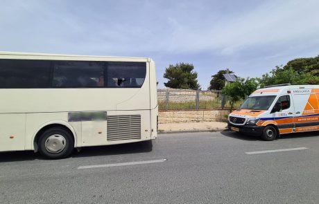נהג אוטובוס נפצע בינוני כתוצאה מאלימות בירושלים | כל הפרטים