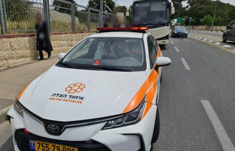 נהג רכב נפצע קשה בתאונה סמוך למעלה לבונה