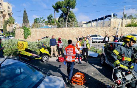 צעיר נפצע בינוני בתאונה סמוך לגבעת התחמושת