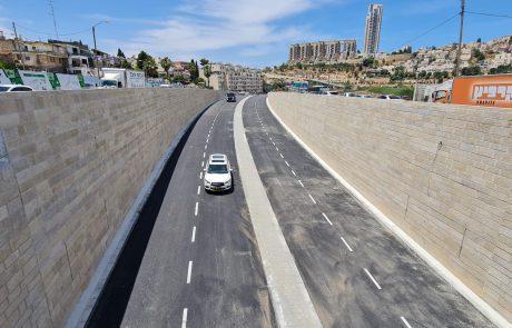 נחנכה ההפרדה המפלסית בצומת פת בירושלים | כל הפרטים