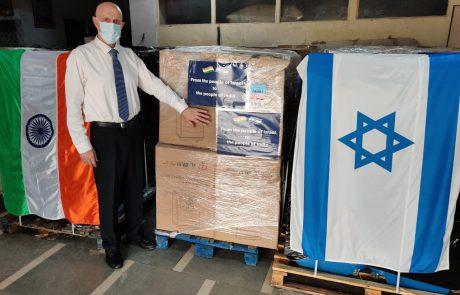 ישראל מסייעת להודו: בחודש מאי השחור מתו במדינה כ-120 אלף אנשים מקורונה וכ-9 מיליון נדבקים