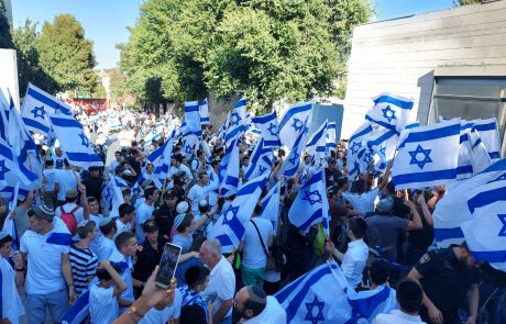 """אלפי משתתפים בריקודגלים בירושלים: """"תשובה ניצחת לארגוני הטרור"""""""