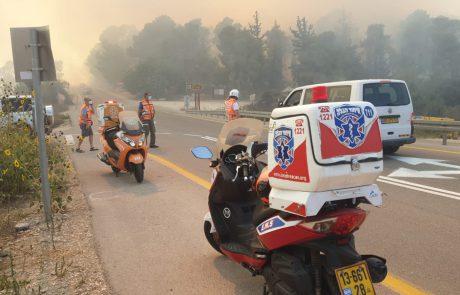 """ההצתות נמשכות: החל פינוי רכבים מחניוני הדסה עין כרם; שר החוץ פנה למקבילו היווני בבקשה להיערך לסיוע אווירי I כב""""ה: """"קצב התקדמות האש מהיר ביותר"""""""