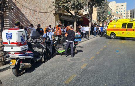 פיגוע דקירה שני בתוך יממה: שני פצועים בינוני ואחד קל כתוצאה מפיגוע דקירה סמוך לתחנה המרכזית בירושלים; המחבל נוטרל