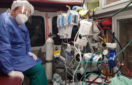המבצע הלילי והדחוף של צוות הדסה, לחיבור של חולה לא מחוסן וללא מחלות רקע מנהריה לאקמו והעברתו להדסה עין כרם