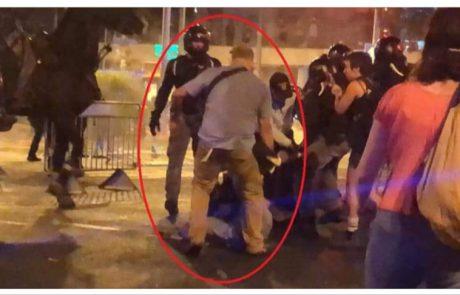 """אריה קינג: """"ההפגנות: מפגן אנרכיסטי כללי"""" 📸"""